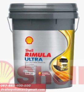 Distributor Oli Shell 15W-40