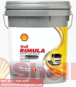 Distributor Oli Shell Rimula Diesel